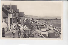 BAY SERIES POSTCARD THE ESPLANADE, SHANKLIN, ISLE OF WIGHT. PIER & SHOPS. D896