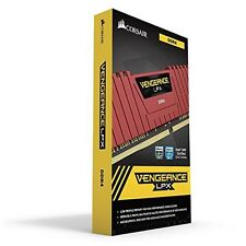 Corsair 16GB (2x8GB) DDR4 Vengeance LPX RED!! 3200MHz Memory Kit New!!