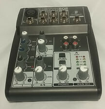 BEHRINGER XENYX 502 5-Input 2-Bus Mixer with XENYX Mic Preamp and British EQ