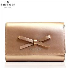 NWT Kate Spade Sawyer Street Callie Wallet Rose Gold WLRU 2330