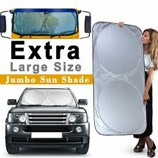 Extra Large Jumbo Auto Car Sun Shade Visor Block Front Window Windshield Cover