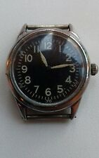 WW2 USA MILITARY ELGIN 1943 PILOTS NAVIGATORS WATCH FOR REPAIR ORIGINAL CONDITIO