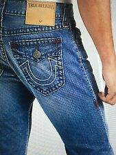 TRUE RELIGION 1/2 RICKY SUPER T MEN JEAN CFHM RIVER BED M859NSB4 NWT S-38W $328