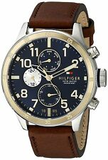 Tommy Hilfiger Leather Mens Watch 1791137