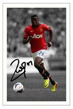 WILFRIED ZAHA MANCHESTER UNITED MAN UTD SIGNED PHOTO AUTOGRAPH PRINT SOCCER