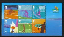 Guernsey 2003 Island Games ss--Attractive Sports Topical (800a) MNH