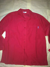 CLEARANCE SALE U2 Kids Red Long Sleeved Corduroy Shirt