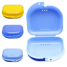 WELL Dental Orthodontic Retainer Denture Storage Case Box Mouthguard Container