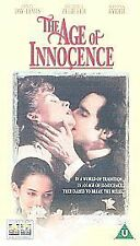 Age of Innocence [VHS], Acceptable VHS, Daniel Day-Lewis, Michelle Pfeif, Martin