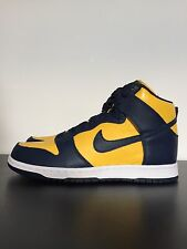 Nike Dunk Retro QS Blue Yellow Trainers Size UK10/US11