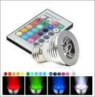 MAGIC LED LIGHT BULB 16 COLORS + REMOTE + REMOTE BATTERY - 5 MODES