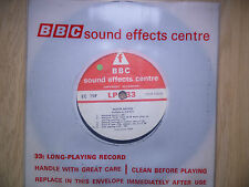 "BBC Sound Effects 7"" Record - Motor Racing: Formula 1, 1.3 litre '69 Silverstone"