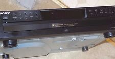 SONY CDP-CE275 Black 5 Disc Exchange CD Compact Disc Player/Changer