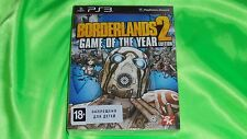 Borderlands 2 Game of the Year Edition Playstation 3 PS3 Brand new, Sealed.