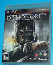 Dishonored - Sony Playstation 3 PS3 - USA