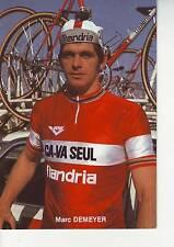 CYCLISME carte MARC DEMEYER (equipe flandria ca va seul )  1979