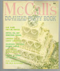 McCall's Do-Ahead Party Book Editors of McCall's Paul Dome SC 1972