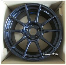 NEW SSR GT X01 17x10 5-114.3 +15 FLAT BLACK 17inch *1rim price official