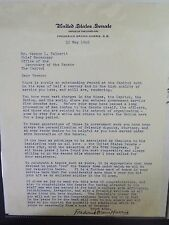 Frederick Brown Harris - Methodist Minister - Typed Letter Signed