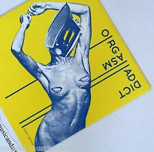 "ORIGINAL 1977 LINDER STERLING ART COVER ORGASM ADDICT 7"" VINYL N.MINT RARE"