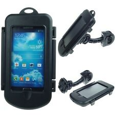 German made waterproof Samsung Galaxy S4 bike motorcycle handlebar mount holder