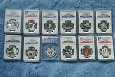 2013, NGC, $10, O Canada Set, 11 are PF70 Matte, Most Early/First Releases