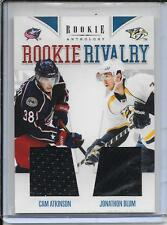11-12 Rookie Anthology Atkinson/Blum Rookie Rivalry Dual Jersey # 18