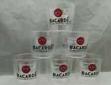 "6 Bacardi ""shot in a glass"" ""cannon ball"" Yeager Bomb cups - NEW"
