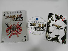 SMOKIN ACES DVD STEELBOOK ENGLISH DEUTSCH - GERMAN EDITION + EXTRAS + COMIC