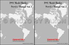 Best Repair Shop Manual for 1991 Daihatsu Rocky Repair Service 91