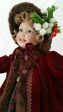 "Ashton Drake Doll ~ LYDIA ~ Victorian Childhood ~ Skater ~ 15"" ~ Box & COA ~Ltd."