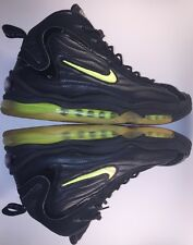 OG 1997 Nike Air Total Max Uptempo 830015 031 Black/Neon Yellow Sz 13