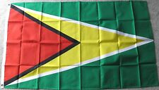 GUYANA POLYESTER INTERNATIONAL COUNTRY FLAG 3 X 5 FEET