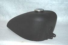 """Vintage HARLEY-DAVIDSON Sportster 2.5 GAL Black Motorcycle """"CLEAN Fuel Gas Tank"""