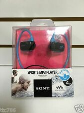 Sony Waterproof 4GB Mp3 Player NWZ-W273S BLUE