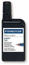 Staedtler Mars Matic 745 R-9 Drawing Ink 22 ml Black -For Drafting/Tracing Paper