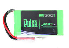 PULSE 7.4V 450mAh 30C 2S Lipo Battery Blade 130X  Higher RPM