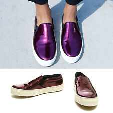 new CELINE by PHOEBE PHILO purple slip on skate shoes EU37.5 US7.5 UK4.5
