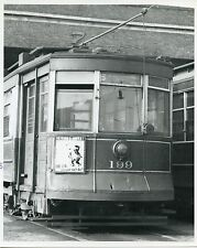 MM385 RP 1940s? CTA CSL CHICAGO SURFACE LINES CAR #199 BALTIMORE 93rd