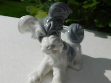 Lladro Glazed Skye Terrier Dog Figurine - Retired # 4643 Mint!