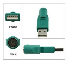 Convertitore ps2 a USB-modifica femmina ps/2 Mouse/Tastiera Presa a Spina USB