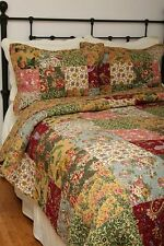 Queen Quilt Set Attic Treasure Antique Chic French Country Cotton