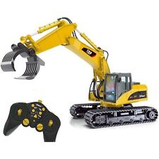 Top Race® 15 Channel Remote Control RC Fork Excavator, (TR-215)