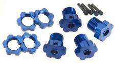 Traxxas 5353X 17mm Wheel Hubs & Nuts (4) T-Maxx Revo E-Revo E-Maxx Summit