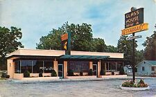 1955 Glass House Drive In  Restaurant, Jacksonville, Florida Postcard