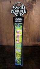 Boulder Beer Colorado Tap Handle HAZED Hoppy Session Ale NEW Craft Beer Keg Knob