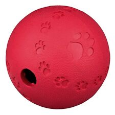 Dog Activity Snack Ball Natural Rubber Treat Dispensing Toy Trixie 11 cm 34943