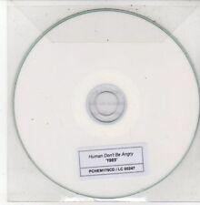 (DG45) Human Don't Be Angry, 1985 - DJ CD