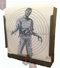 100 - 170gsm Card Air Rifle SG Zombie Targets 14cm ( Airsoft  shooting Pistol