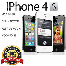 Apple iPhone 4S 16GB-noir-vodafone verrouillé-excellent état!!!